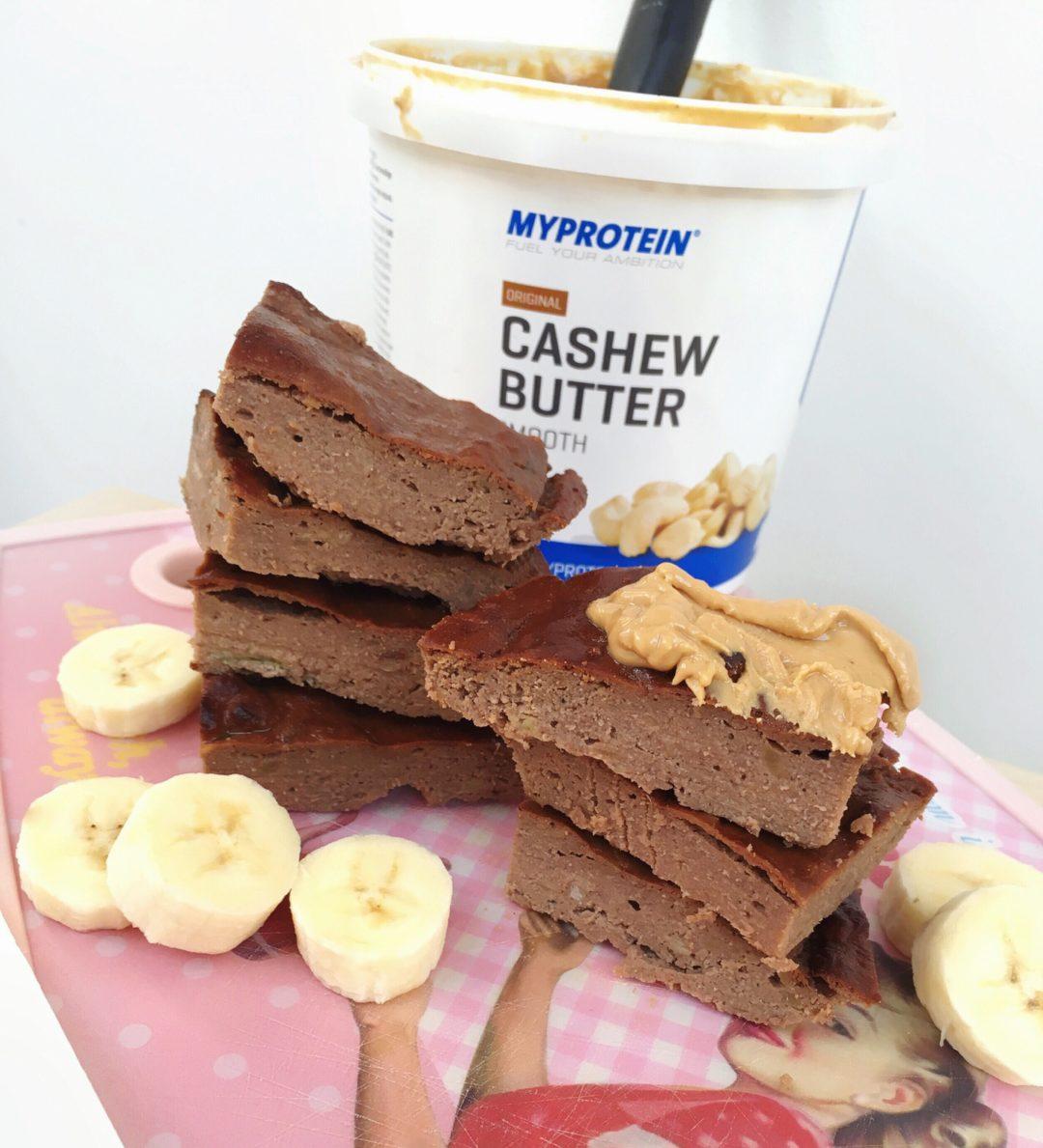 Flaumiger Bananen Schoko Proteinkuchen Gerid Rux