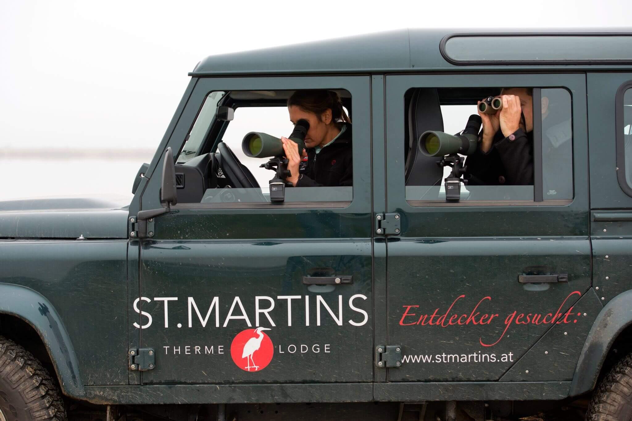 SPA-Urlaub in der St. Martins Therme & Lodge - Gerid Rux
