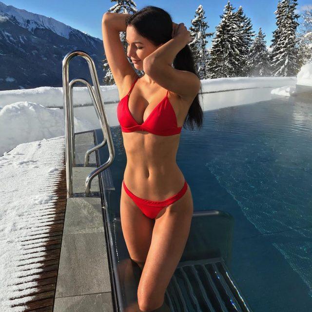 Schnee Sonnenschein amp Bikinis Einer meiner liebsten Kombis diesen Winterhellip
